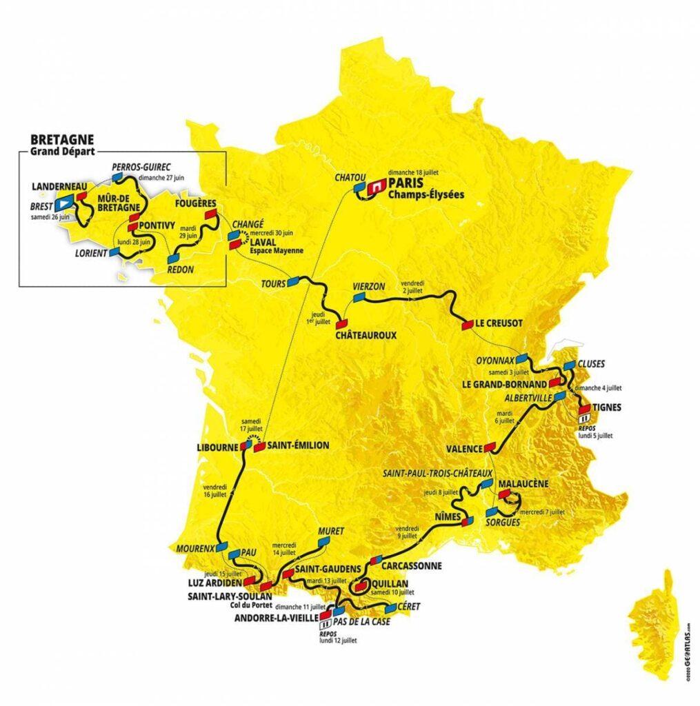 carte-tour-de-france-2021-cyclisme